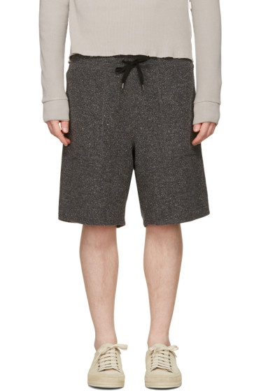Robert Geller - Black Richard Shorts