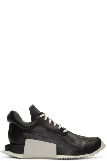 Rick Owens - Black adidas Originals Edition Level Sneakers