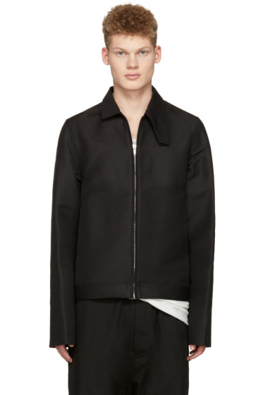 Rick Owens - Black Brother Jacket