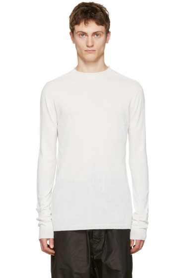 Rick Owens - White Level Lupetto Pullover