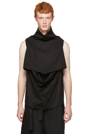 Rick Owens - Black Pelican Turtleneck
