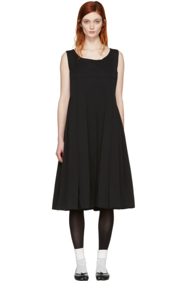 Comme des Garçons - Black Pleated Dress