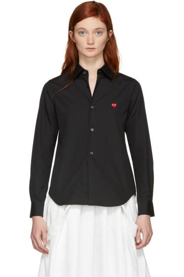 Comme des Garçons Play - Black Small Heart Shirt