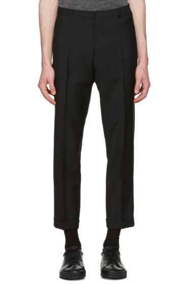 Jil Sander - Black Slim Fit Suit Trousers