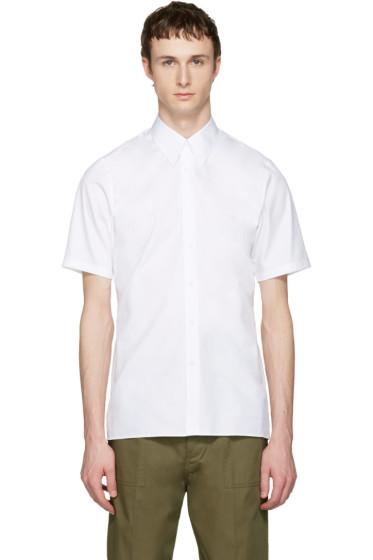 Jil Sander - White Pointy Collar Shirt