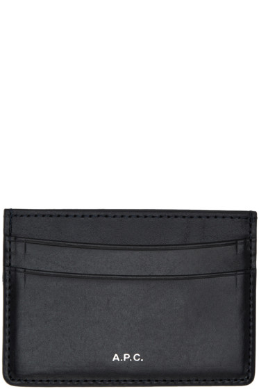 A.P.C. - Navy André Card Holder