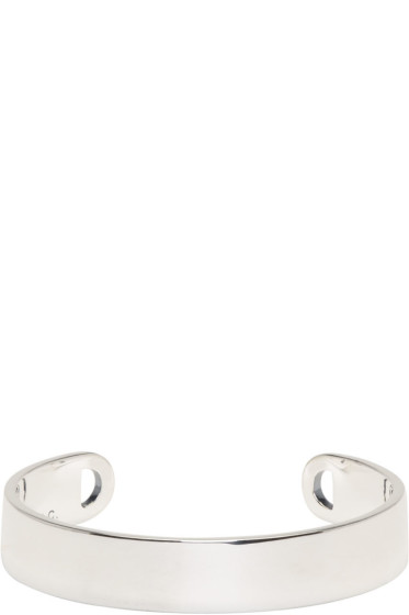 A.P.C. - Silver Chester Cuff Bracelet