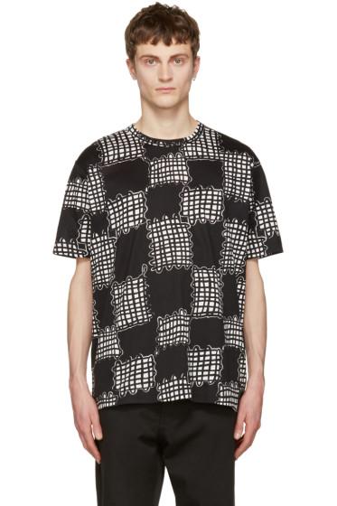 Junya Watanabe - Black Printed T-Shirt