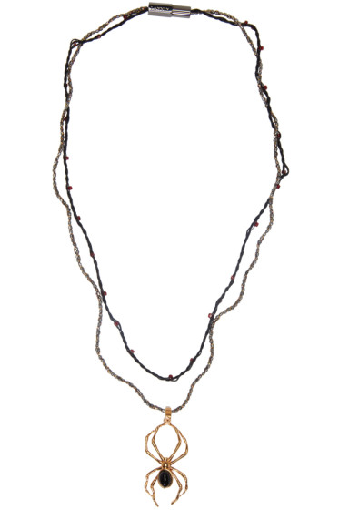 Lanvin - Gold Spider Pendant Necklace
