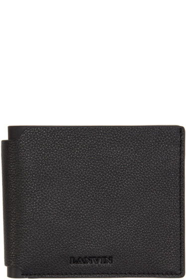 Lanvin - Black Leather Wallet