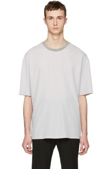 Lanvin - Ecru Oversized T-Shirt