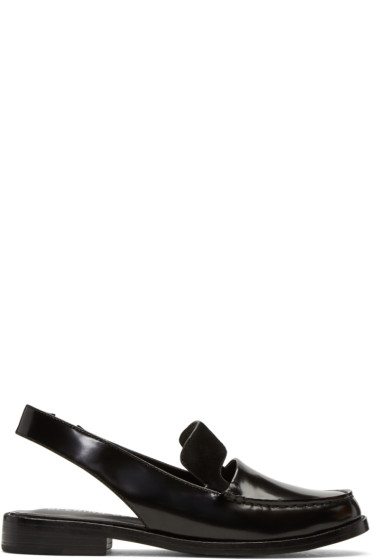 Opening Ceremony - Black Patent Betty Loafers