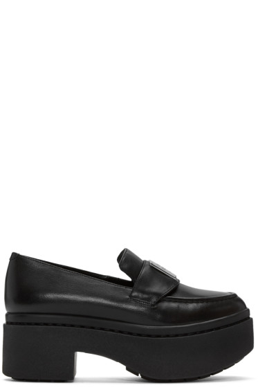 Opening Ceremony - Black Platform Agnees Loafers