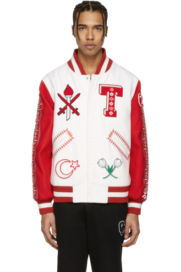 Opening Ceremony - White Turkey Global Varsity Jacket