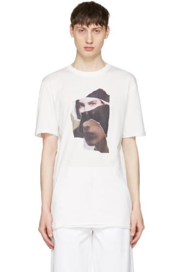 Damir Doma - White Timor Face T-Shirt