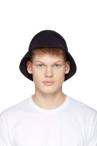 Comme des Garçons Shirt - Navy Bucket Hat