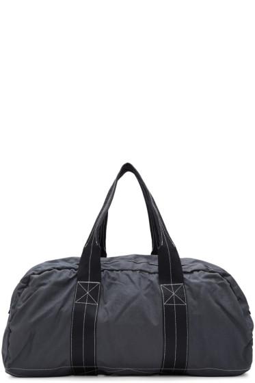 Comme des Garçons Shirt - Grey Nylon Duffle Bag