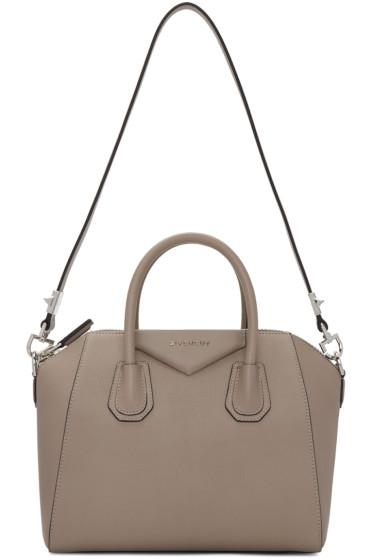 Givenchy - Taupe Small Antigona Bag