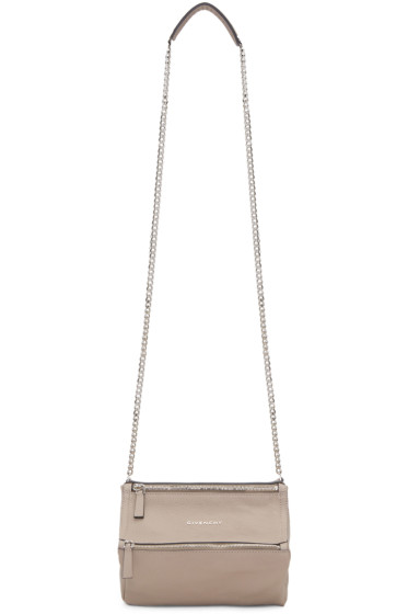 Givenchy - Taupe Mini Pandora Bag