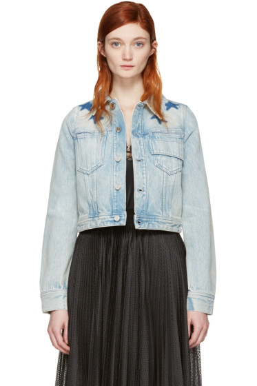 Givenchy - Blue Denim Stars Jacket