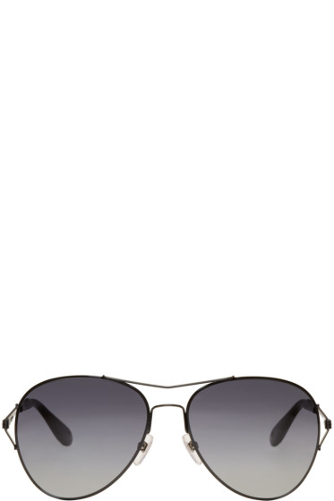 Givenchy - Black Aviator Sunglasses