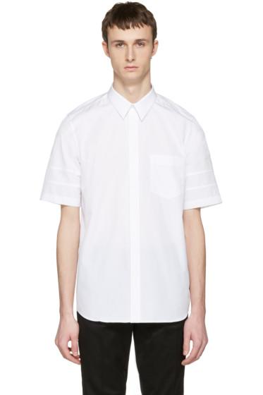 Givenchy - White Star Sleeve Shirt