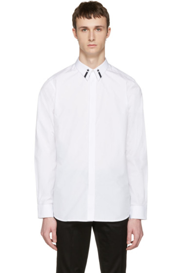 Givenchy - White Star Collar Shirt