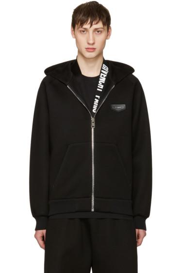 Givenchy - Black Neoprene Hoodie