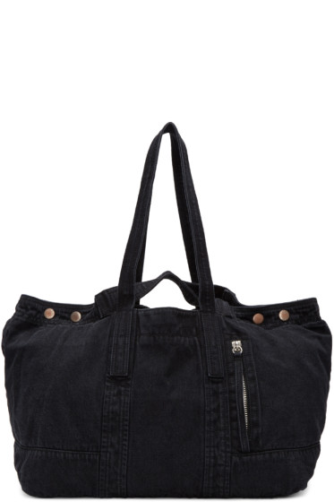 3.1 Phillip Lim - Black Denim Field Tote