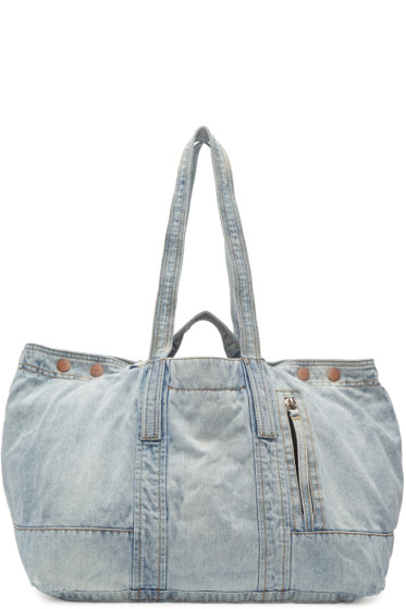 3.1 Phillip Lim - Blue Denim Field Tote