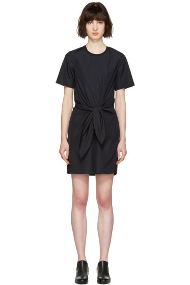3.1 Phillip Lim - Navy Front Knot Dress