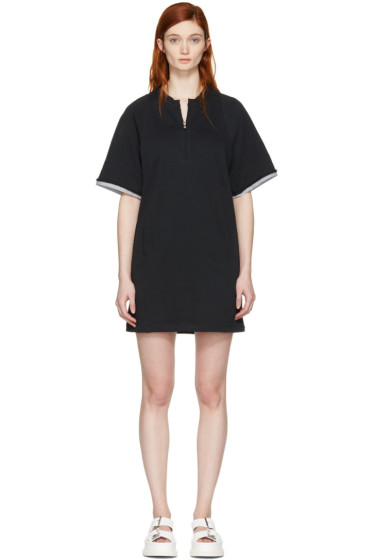 3.1 Phillip Lim - Black French Terry Dress