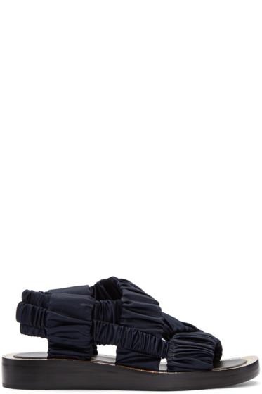 3.1 Phillip Lim - Navy Nagano Sandals