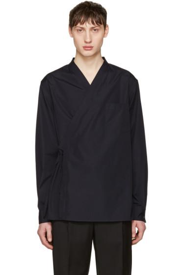 3.1 Phillip Lim - Navy Kimono Shirt
