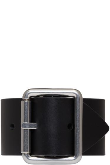 Raf Simons - Black Belt Bracelet