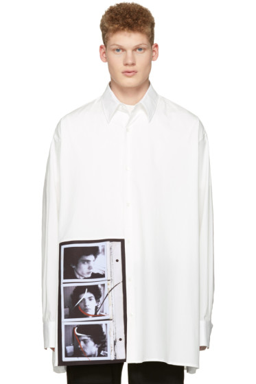 Raf Simons - Off-White Robert Mapplethorpe Edition Self Portrait Oversized Shirt