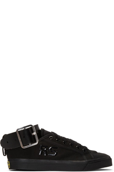 Raf Simons - Black adidas Originals Edition Spirit Buckle Sneakers