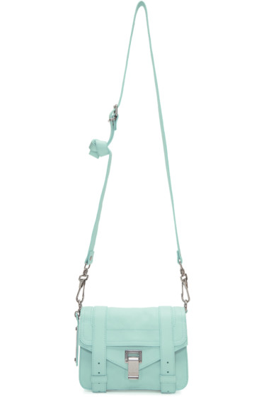 Proenza Schouler - Blue Mini PS1 Crossbody Bag