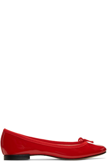 Repetto - Red Cendrillon Ballerina Flats
