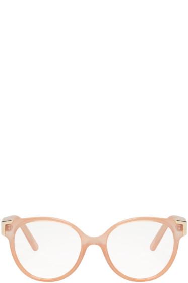 Chloé - Pink Round Glasses