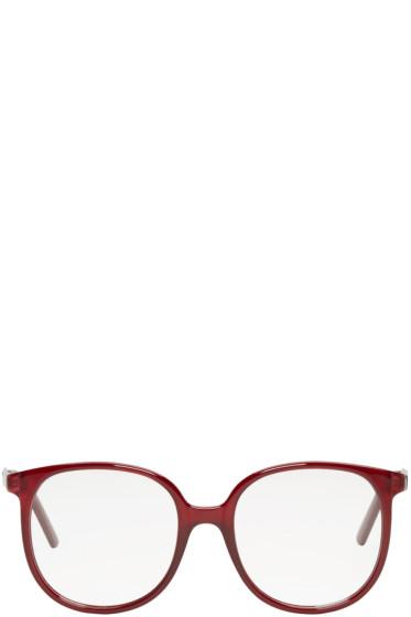 Chloé - Burgundy Round Glasses