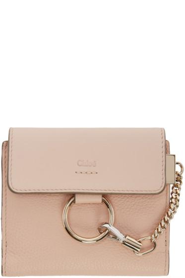 Chloé - Pink Small Faye Wallet
