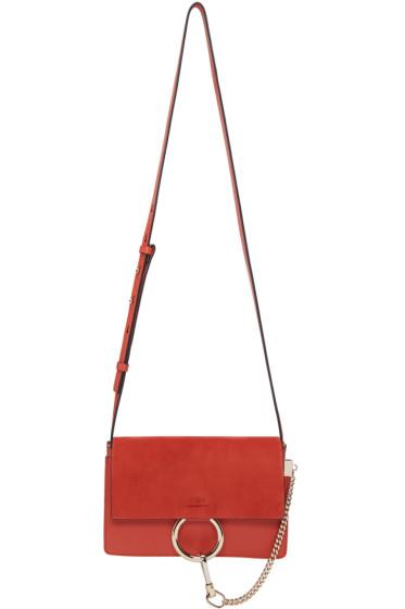 Chloé - Red Small Faye Bag