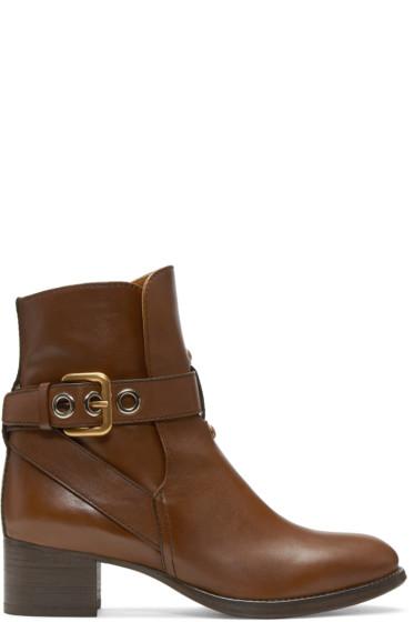 Chloé - Brown Max Boots