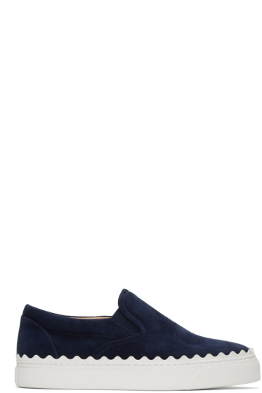 Chloé - Blue Ivy Slip-On Sneakers