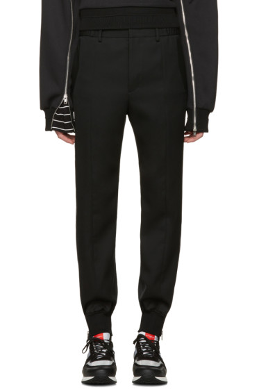 Juun.J - Black Side Zip Trousers