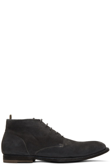 Officine Creative - Grey Coorda 2 Boots