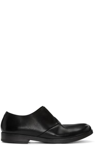 Marsèll - Black Leather Lista Derbys