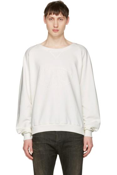 Pierre Balmain - Off-White Logo Pullover