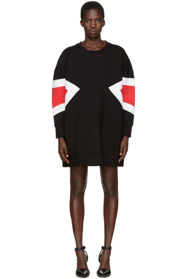Neil Barrett - Black Modernist Dress